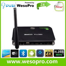 2015 New Z4 2g/16g RK3368 dual band wifi Real Octa core android 5.1 Smart tv box