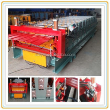 iron plate bending machines/cold roll formed steel profile/machine produce roof plate