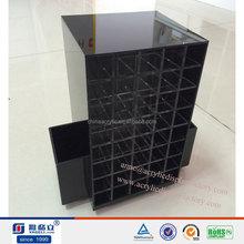 Wholesale trade assurance supplier HIgh Quality rotating acrylic lipstick organizer