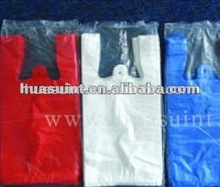 HDPE/LDPE plastic carry shopping bags
