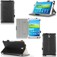Rotation folio stand PU leather case for Samsung tab S 8.4 T700