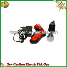Good after service New Cordless Electric Pick Gun OBD2 Car locksmith tool Electric Pink Gun