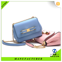 New design chain PU leather shoulder bag woman wholesale