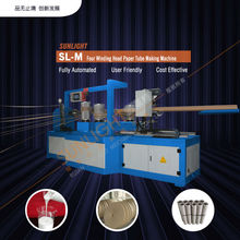Biodegradable Convolute Kraft Cosmetic Mailing Firework Paper Can Core Pipe Tube Forming Making Winding Rolling Winder Machine