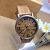 wood watch,ladies watch,leather watch