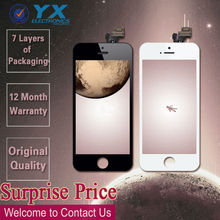 for iphone 5s lcd + touch screen digitizer assembly replacement,screen replacement for iphone 5, oem for iphone 5 lcd