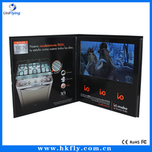 "2.4/2.8/4.3/5/7/10"" LCD Video Greeting Card/LCD Video Brochure/LCD Video Book for advertisement, gift, education"