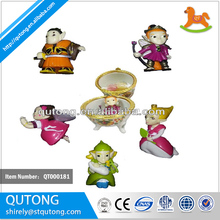 Elf plastic toy /capsule plastic toy /small plastic toy