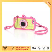 camera stylish phone case for iphone 6,6plus , bulk phone case from China