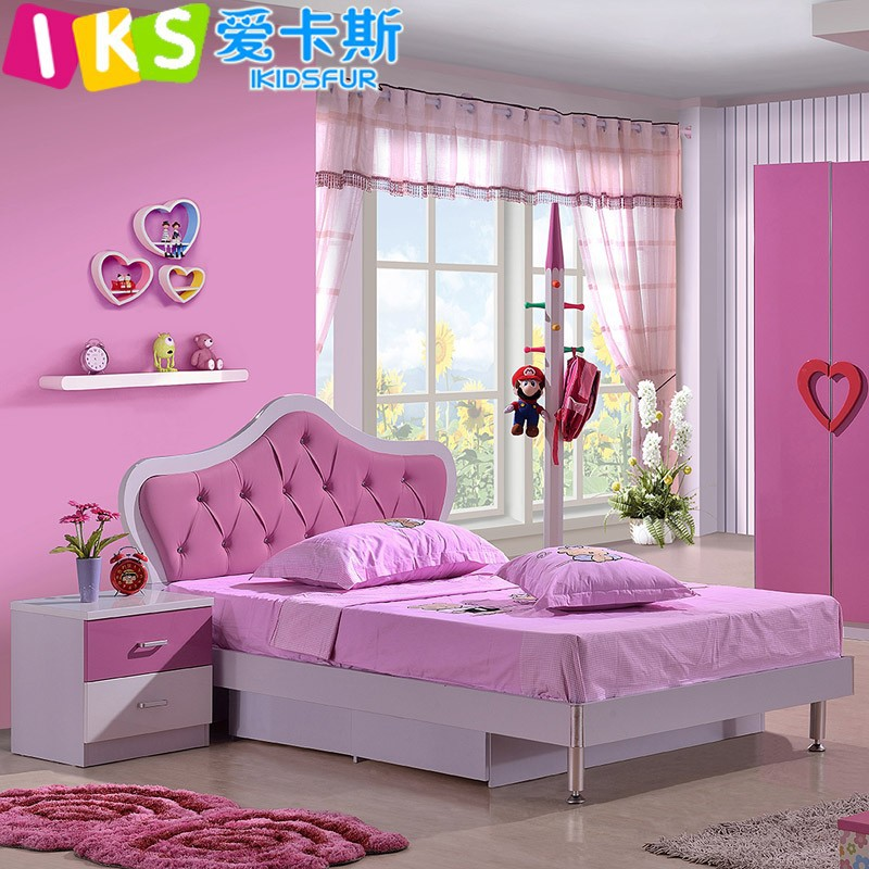 Diamond Furniture Bedroom Sets Pretty Bedrooms For Girls Purple Bedroom Design Red Bedroom Wall Colour Combination Photos: 2015 Modern Pretty Girls Bedroom Furniture Sets 101b