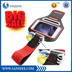 Custom Hot Selling Outdoor Running Sport Armband PVC+Lycra Material phone case Armband for iphone 6 plus