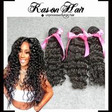 All Express Deep Wave Brazilian Human Hair Wholesale Golden Perfect Brazilian Hair From Kason Hair Company
