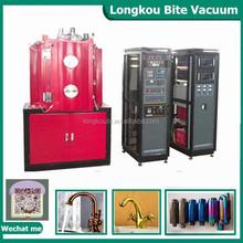PVD metalization chambers vacuum coating machinery ABS plastic parts vacuum chrome machine