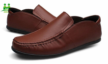 hot sell nice quality comfort soft men driving shoes genuine leather shoes