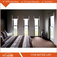 YY Home Double Glazed Aluminum Alloy Awning Window+fixed windows