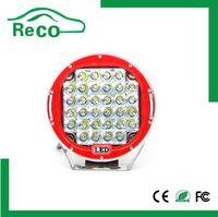 24 led work light with magnet and hook, 9inch 96w led driving spot work light