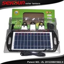 2015 Seksun exclusive launch Promotional 5000mAh Solar Colorful Li-polymer Mobile Portable solar Power Bank