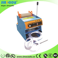 Newest type Automatic Sealing Bowl Machine Automatic Vacuum and Nitrogen Tin Can Sealing Machine WY-808-12