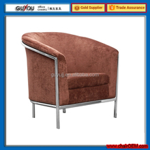 Y 5946 Hot Selling Cheap Elegant Wooden Frame Tub Chair Covers Fabric
