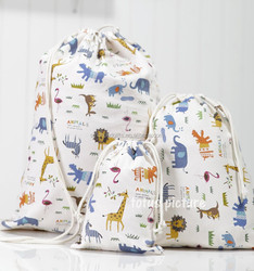 Alibaba China supplier wholesale fabric cotton personalized drawstring bags for kids