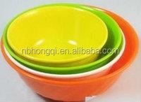 Colored Plastic Noodles Bowl