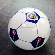 100 cm giant plastic inflatable advertising soccer ball
