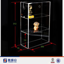 Yageli big size clear acrylic model display cabinets