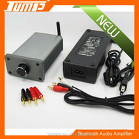 Manufacturer aluminum housing 24VDC 5A 50W+50W 2.0 channels home bluetooth amplifier