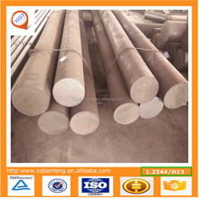 Hot work tool steel forged round and flat bars as per DIN 1.2344, EFS , Annealed , Ultra sonic tested and Mill test certificate