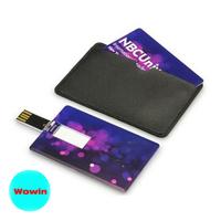 Customize logo wholesale Plastic Card USB Flash Drive 128MB-32GB