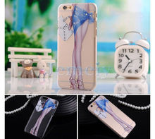 Protective Case TPU Printing Cover For Apple6 4.7 For New Mobile Phone