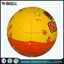 chinese promotional items pvc/pu/tpu alibaba china children basketball for adverting