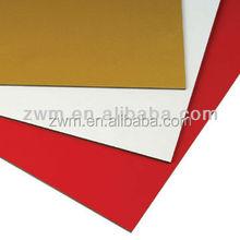 decorative plastic composite panel acp aluminum composite panel