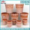 Factory painting terracotta pots