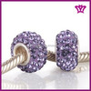 Wholesale crystal pave jewelry Floral Fits Pandora style Beads HZ-04