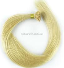 sexy hot Brazilian human hair double drawn kreatin prebonded human hair extensions
