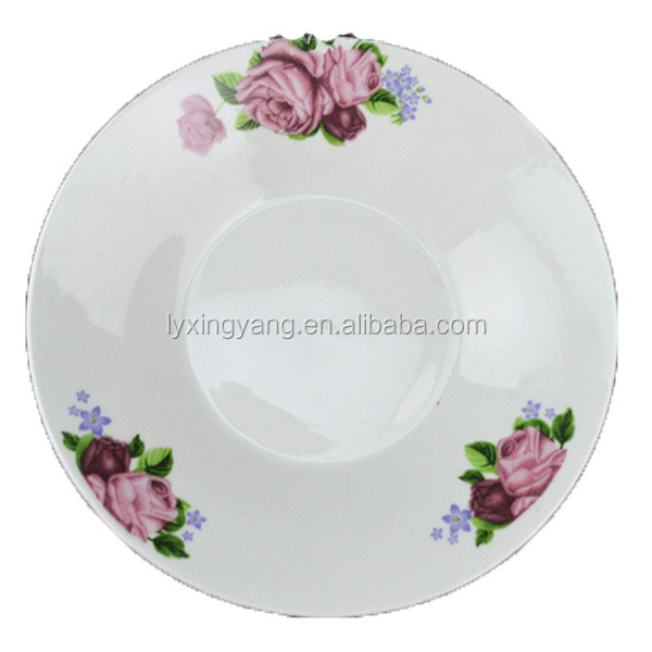 various certificates ceramic plate, cheap porcelain plate,dinner plates serving dishes