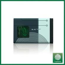 Best quality 1020mah BL-5C mobile phone Battery For Nokia 1200,1208,1600,1650,105,106 AKKU batteries bateria batterie