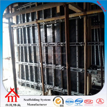 Cold Rolled Steel Wall Formwork Scaffolding With Concrete Pouring