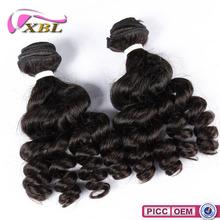 Long Lasting Virgin Peruvian Hair 7A French Curl Hair Extension