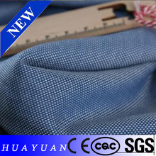 2015 popular light chambray 100% cotton denim fabric for shirting fabric