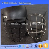 Widely used practical SS304 metal face mask/ baseball player mask/ metal arai helmet