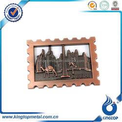 novel metal souvenir magnets,custom souvenir fridge magnet