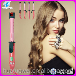 High Quality custom steam irons Electric curling wand hair iron