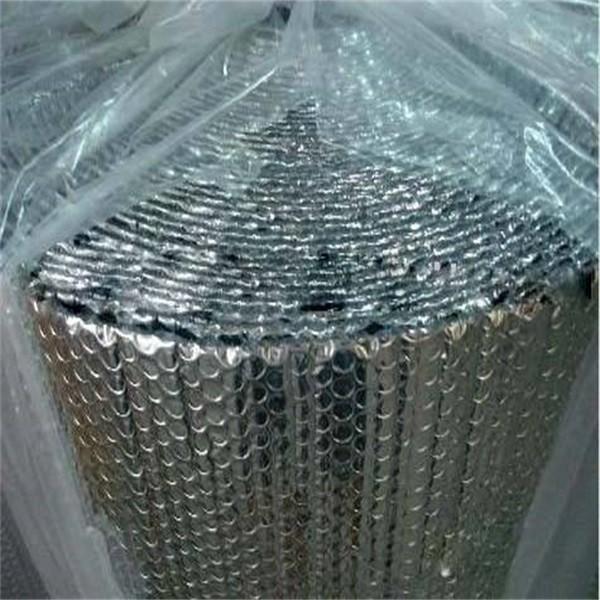 burbuja de aluminio de rotura de puente trmico material para techo de metal ignfugo burbuja