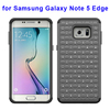 2015 Newest Bling Diamond PC and Silicone Rugged Hybrid Cover Case for Samsung Galaxy Note 5 Edge
