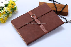 Cheap goods from china PU material Fancy Book style Belt leather case tablet cover for apple ipad air 2 wholesale