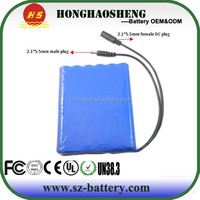 hot sale long cycle life 12v rechargeable lithium battery