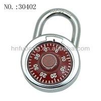 Colour Metal Dial Combination lock number lock password padlock