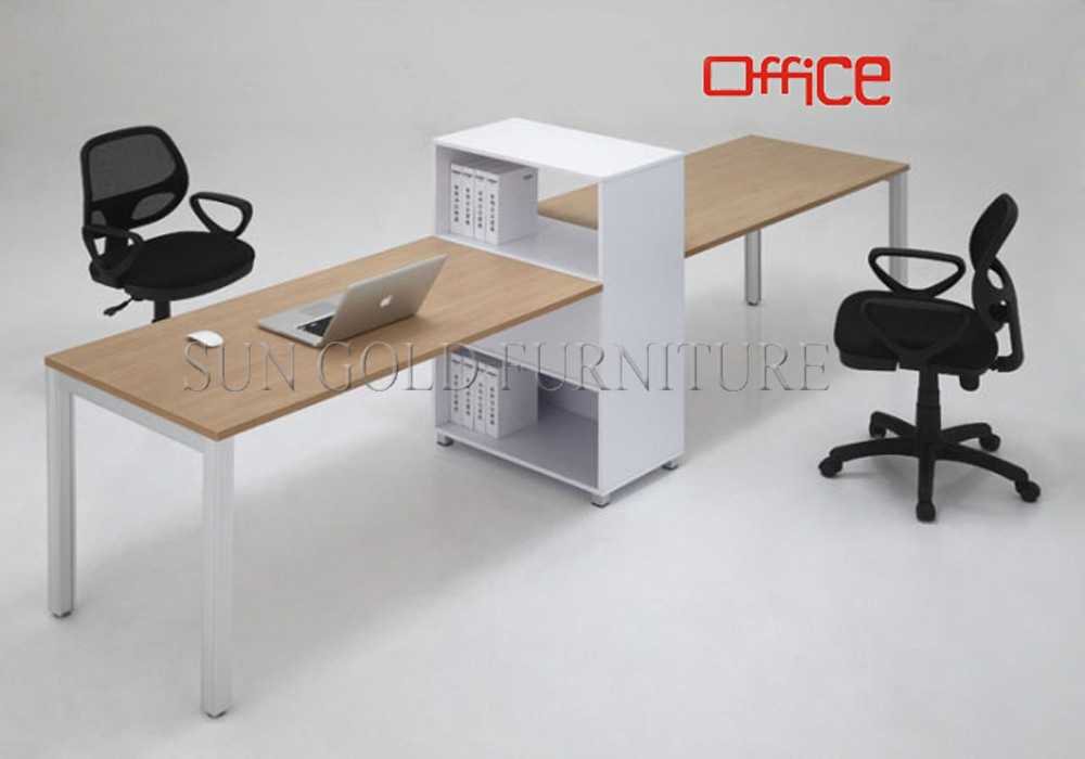commercial office furniture straight cheap saving space office desk